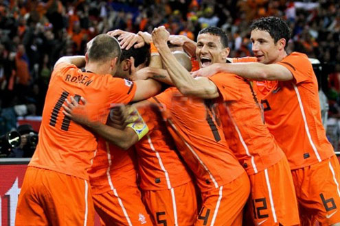 Netherland-team-celebrate