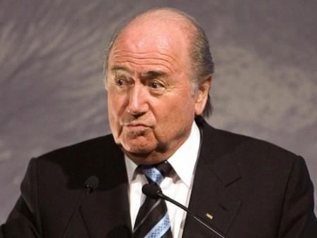 Sepp Blatter, FIFA president.