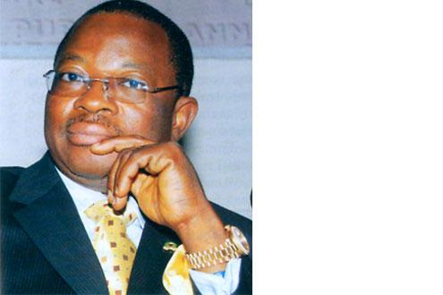 Erastus Akingbola, Managing Director of Intercontinental Bank Plc.