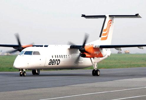 An Aero Contractors plane