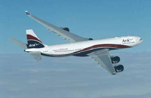 Arik aircraft