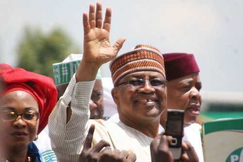 IBB Campaign launch for 2011 at the Eagle Square Abuja.