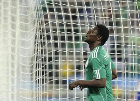 Nigeria's Obafemi Martins. Photo: AFP