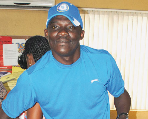 Kayode Olowoyo, TheNEWS/P.M. NEWS Captain.