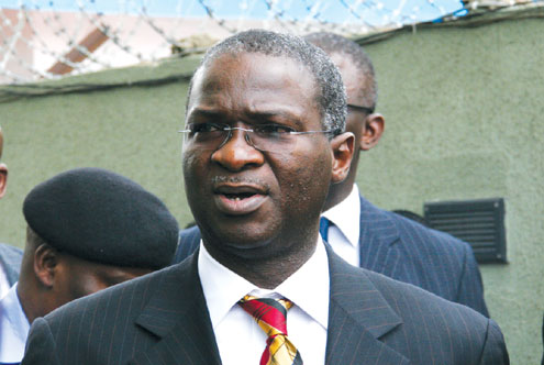 Babatunde Raji Fashola, Lagos State governor.