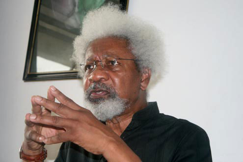 Prof-Wole Soyinka