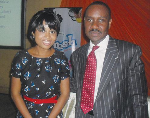 Benita and Ighodalo.