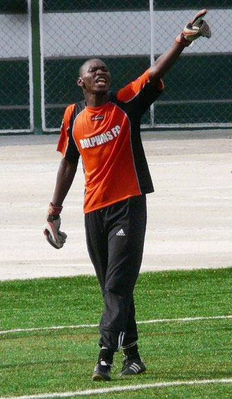 Goalkeeper Rotimi, one of the Eagles set for Obama Cup in America.
