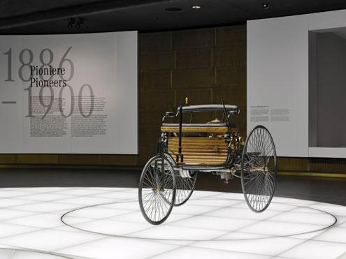 Mercedes-Benz's first vehicle