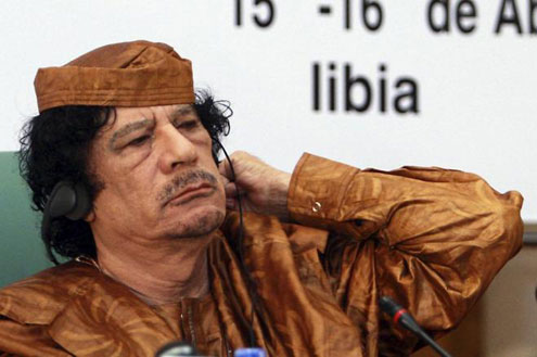 Muammar Gahdaffi