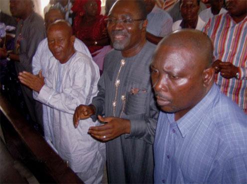 Abiye Sekibo's dedication of campaign to God.