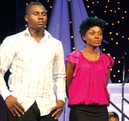 Alex and Zoe evicted from Nigerian Idols.