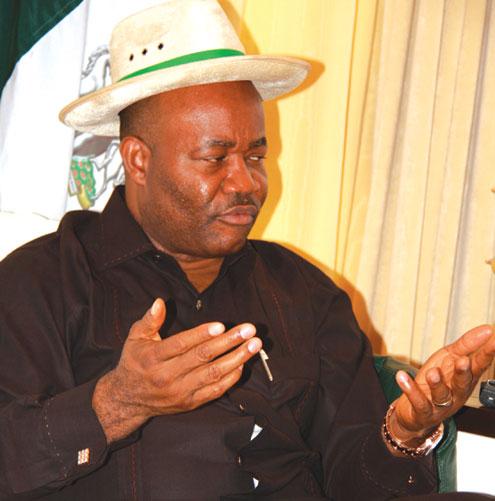 Godswill Obot Akpabio, Akwa Ibom state governor.