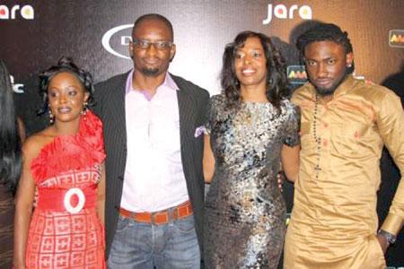 Helen Paul, Joe Hundah, Biola Alabi and Uti Nwachikwu.