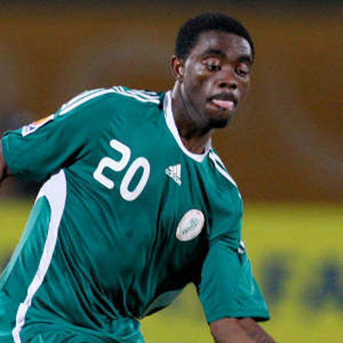 Lukman, scored for Nigeria and missed a penalty in the match against E-Guinea.