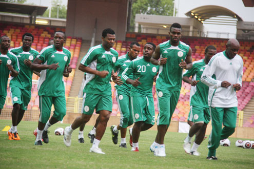 Eagles-in-training-session