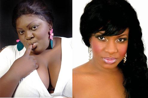 Eniola Badmus-and-Chika-Ike