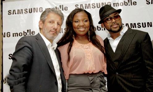 Fady Khatib of Samsung, Sasha and Banky W.