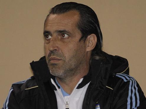 Sergio Batista, Argentina coach.