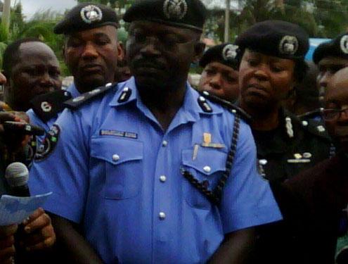 Suleiman Abba, Rivers Police Commissioner.