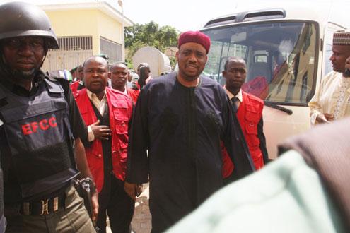 Usman Bayero Nafada, former Deputy Speaker, at the High Court of the Federal Capital Territory, Apo, Abuja.