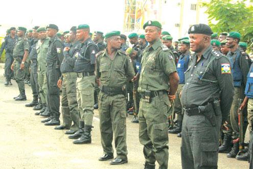 A ban of Nigerian Policemen.