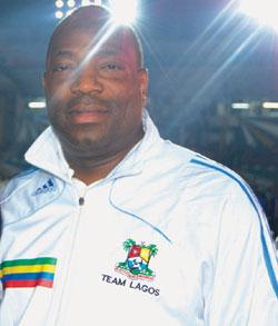 Enitan Oshodi, Lagos Sports Commissioner.