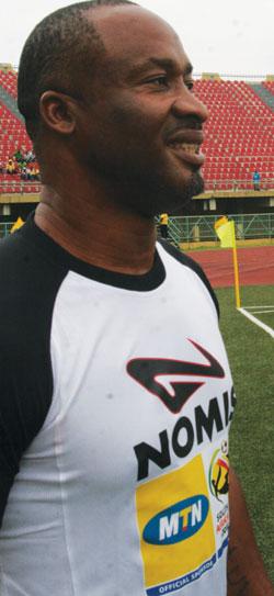 Uche, former Super Eagles player.