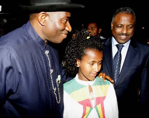 ETHIOPIA, GOODLUCK WITH SAIDATU AND SPEAKER