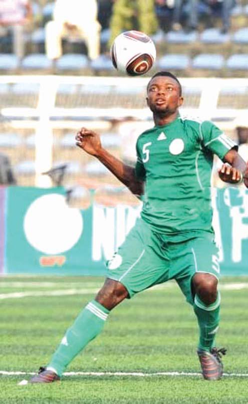Nigeria's Kingsley Udoh