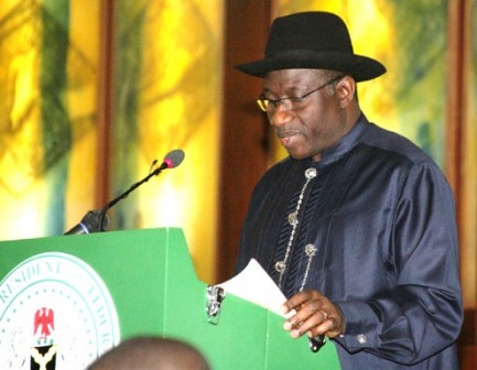 President Goodluck Jonathan: a national broadcast to mark New Year