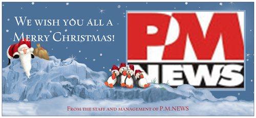 Xmas greeting from PMNEWS