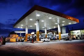 a petrol station in nigeria