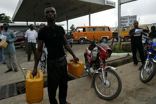 buying petrol in Nigeria