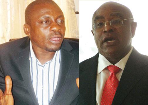 •Akhabue and Obiakor trade blames over multi-billion naira hospital project.