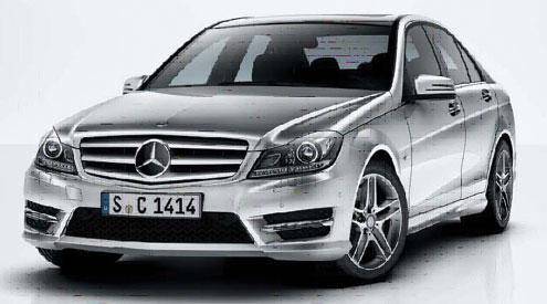 •Mercedes Benz C200.