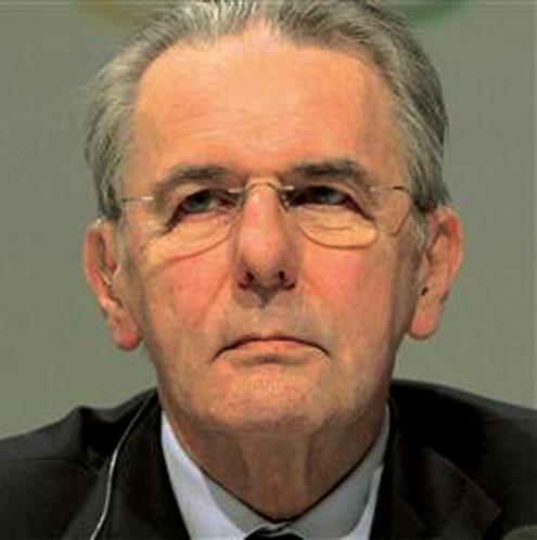 Jacques Rogge, IOC President.