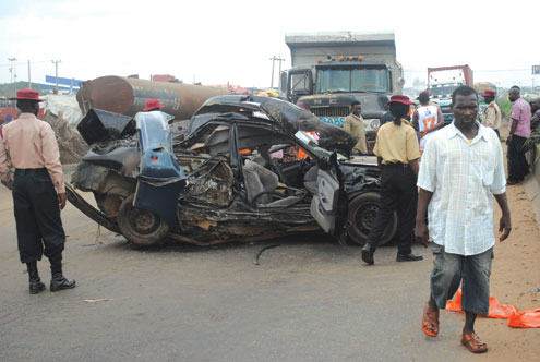 Accidents occur frequently on the expressway
