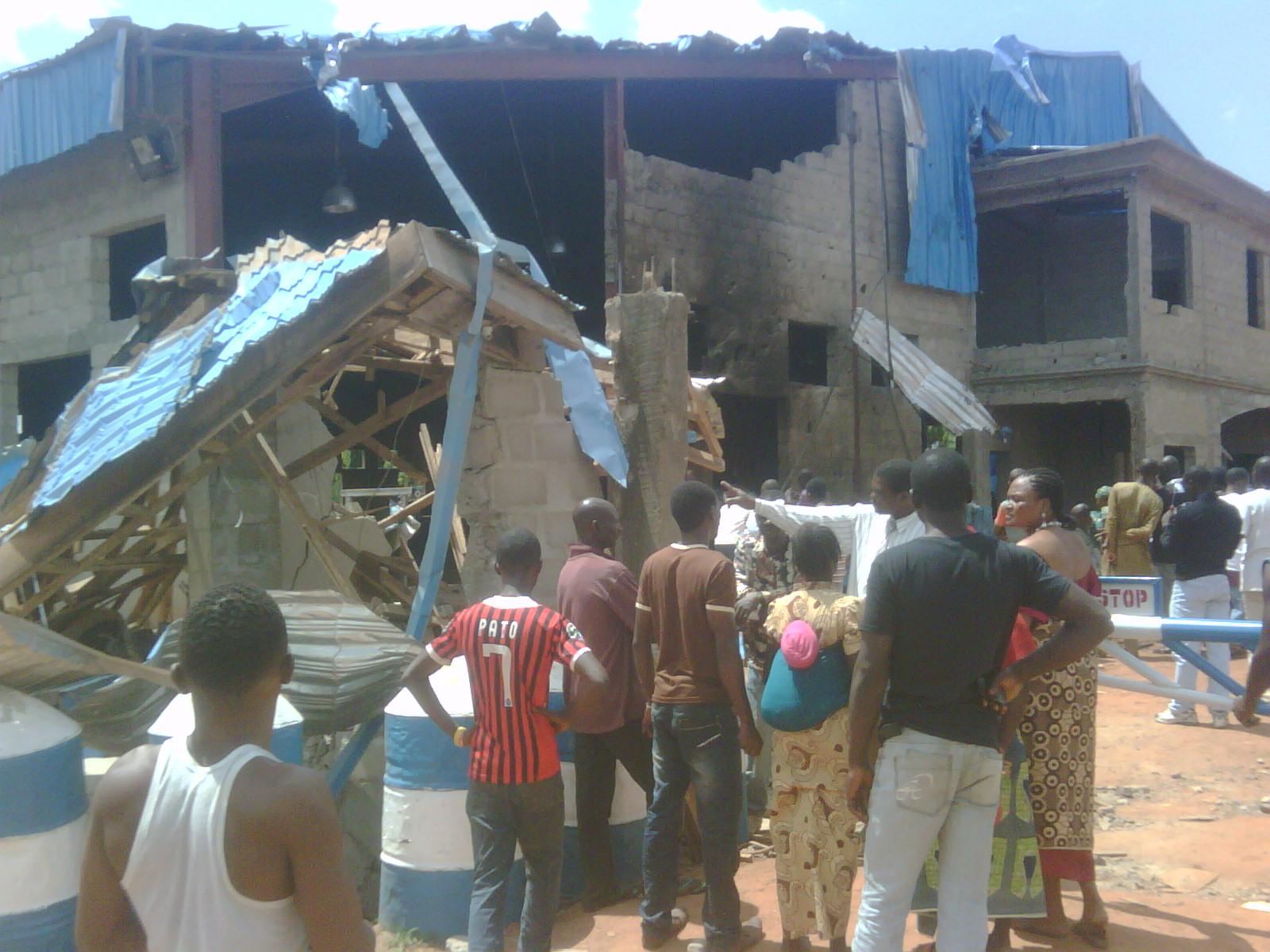 bombed shalom church in kaduna