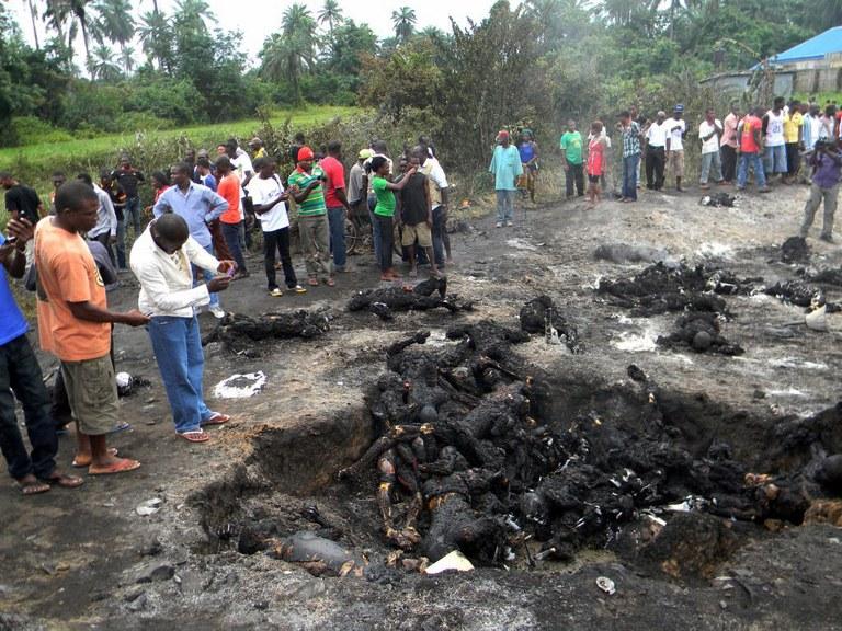 NIGERIA-ACCIDENT-FIRE