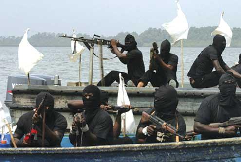 Pirates on Nigerian waterways.