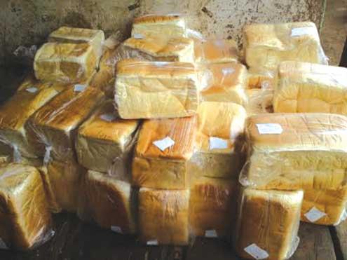 A Nigerian bread