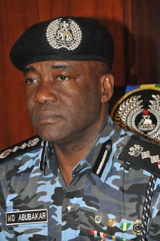Mohammed Abubakar, Inspector General of Police