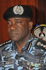 Inspector General, Muhammed Abubakar