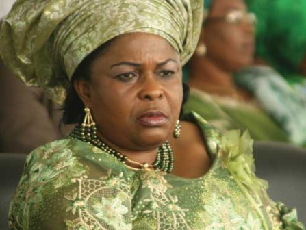 Patience Jonathan: not ill, says aide