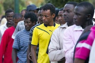 African migrants in Tel Aviv slated for deportation