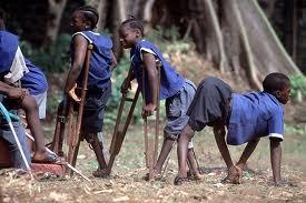 victims of polio in Nigeria