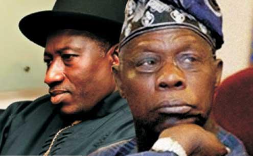 Jonathan, Obasanjo: A parting of ways.