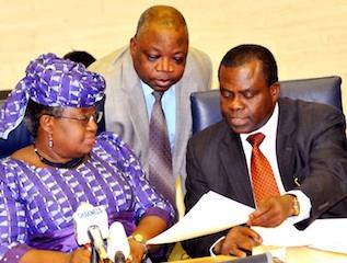 Otunla, Accountant general with Ngozi Okonjo Iweala