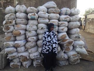 hajiya Jimoh and her load of cannabis
